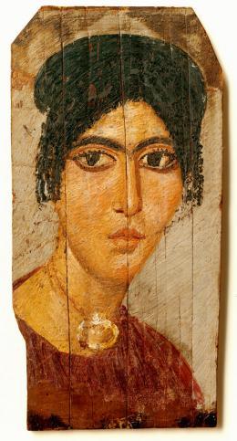 Mumienporträt einer Frau  © Österreichische Nationalbibliothek