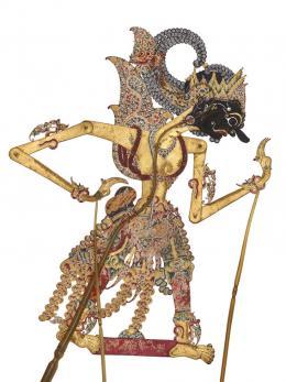 Gatotkaca, Java, 1850–1900, Geschenk Paul und Tina Stohler, Museum Rietberg, 2017.584