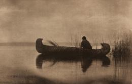 «Kutenai Duck Hunter» Edward S. Curtis, Fotogravur, 1910 (c) McCormick Library of Special Collections, Northwestern University Libraries