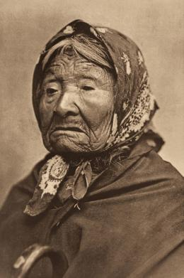 «Princess Angeline» Edward S. Curtis, Fotogravur, 1899 (c) McCormick Library of Special Collections, Northwestern University Libraries
