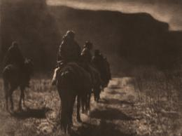 «The Vanishing Race» Edward S. Curtis, Fotogravur, 1904 (c) McCormick Library of Special Collections, Northwestern University Libraries