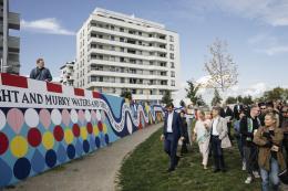 Eröffnung von Beautification mit Stefan Sagmeister (c) Wien 3420 aspern Development AG/APA-Fotoservice/Tesarek