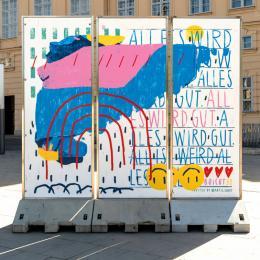 Street Art im MuseumsQuartier Wien / Boicut (c) @Artis.love