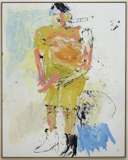 Baselitz, Big Piss I, Albertina Wien, Fotocredit: Albertina, Wien © Georg Baselitz