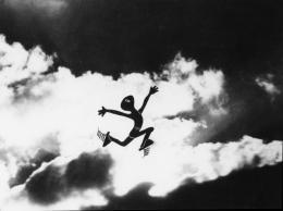 Pérák a SS (Der Federmann und die SS), 1946, Jiří Trnka [Folklore & Science-Fiction & Legenden / Mythen und moderne Legenden], Foto: Národní filmový archiv