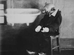 Spejblův případ (Der Fall Spejbl), 1930,  [Puppe(n) / Handpuppen], Foto: Národní filmový archiv