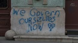 What Is Democracy, Videostill,  Foto: Oliver Ressler