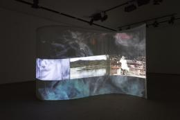 Om Bori, Maria-Josefin-Margarete, 2021, Installationsansicht Video, 8:30 min