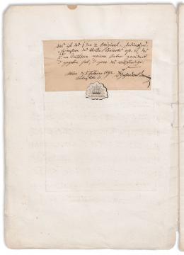 Op. 61. Konzert (D-Dur) für Violine, Ludwig van Beethoven, Erstdruck von 1808 – © Österreichische Nationalbibliothek