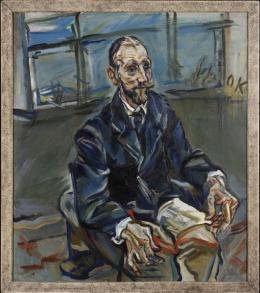 Oskar Kokoschka, Portrait Franz Hauer, ca. 1914 © Rhode Island School of Design, Provi-dence / Fondation Oskar Kokoschka / Bildrecht, Wien, 2018
