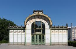 Otto Wagner Pavillon Karlsplatz  Foto: Lisa Rastl © Wien Museum