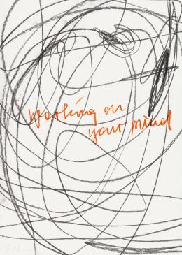 Otto Zitko,  ohne Titel, 2008 / Mischtechnik auf Papier, 70 x 50 cm  © Bildrecht, Wien 2019 / Foto: Lisa Rastl, Wien