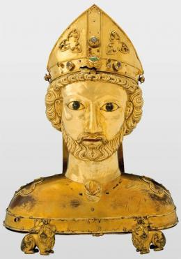 Büstenreliquiar des hl. Pantalus, Basel (?), nach 1270; Historisches Museum