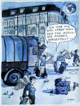 Papan, Das Leben im Jenseits, o.D. (c) Papan/ Sammlung Grill