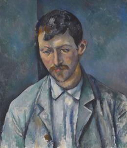 Paul Cézanne Der Bauer, 1890–1892 Öl auf Leinwand Privatsammlung