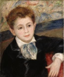 Pierre-Auguste Renoir: Bildnis Pierre Renoir, um 1890. Öl auf Leinwand, 270 x 207 cm; Museum Langmatt