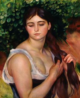 Pierre Auguste Renoir, Der Zopf, Museum Langmatt