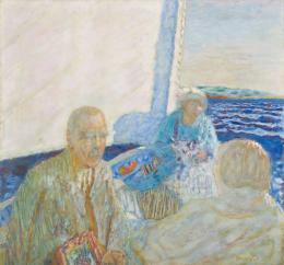 Pierre Bonnard, Bootsfahrt auf dem Meer, 1924 Öl auf Leinwand Privatsammlung
