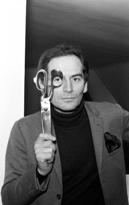 Portrait Pierre Cardin, 1966. Gamma Rapho; © Gamma-Rapho, Foto: Pierre Lelièvre