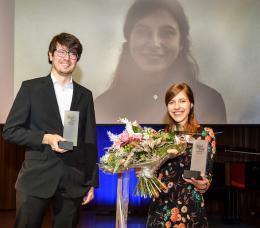 Amos Postner und Sarah Rinderer (© Udo Mittelberger)