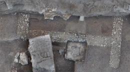 Römisches Gebäude mit Steinfundamenten © Stadtarchäologie Wien/Crazy Eye