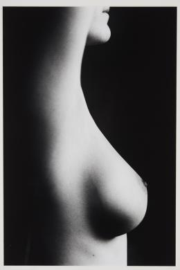 Nude Chain Arms up © Ralph Gibson