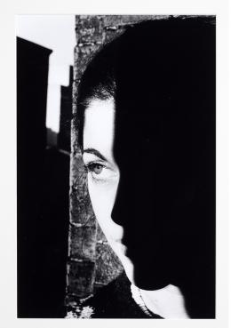 Woman's Face with Shadow © Ralph Gibson
