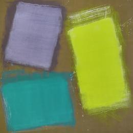 Renée Levi, Barba 1, 2019, 340 x 340 cm, Acryl auf Leinwand