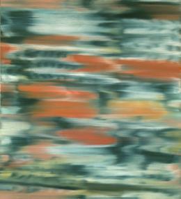 Gerhard Richter, Stadtbild PX, 1968, Öl auf Leinwand, 101 × 91 cm, Bayerische Staatsgemäldesammlungen, München, Wittelsbacher Ausgleichfonds – Sammlung Prinz Franz von Bayern, 1984; Artothek, Foto: Blauel, Gnamm © Gerhard Richter