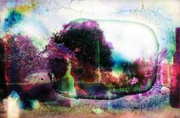 """Sebastian Riemer, """"Achrome Still (Monuments)"""", 2016 166 x 245 cm, C-Print © Sebastian Riemer"""