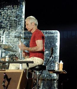 Charlie Watts am 19. Juli 2006 in Hannover (Foto: Patrick Baumbach/ gemeinfrei)