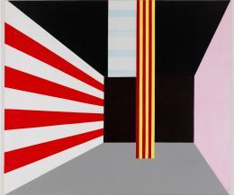Roman Clemens, Spiel aus Form, Farbe, Licht und Ton, Finale , 1980 Collection Museum Haus Konstruktiv