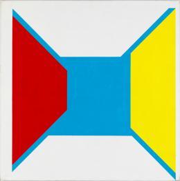 Roman Clemens, Hommage à l'espace – genesis, la naissance , 1973 Collection Museum Haus Konstruktiv