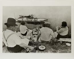 (C) Henri Cartier-Bresson. Juvisy, France. Gelatine-silver print, 1938.