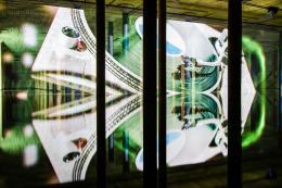 "Anri Sala, ""Time No Longer"", 2021, Installationsansicht Buffalo Bayou Park Cistern, Houston, 2021, Courtesy of the artist und Marian Goodman Gallery, Produced with the support of [N.A!] Project © Anri Sala, Bildrecht, Wien 2021"