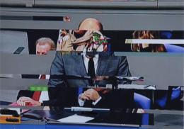 "Ohne Titel, aus der Serie ""Parliament"", 2014-2017; (c) Boris Mikailov, VG Bild-Kunst, Bonn 2019"