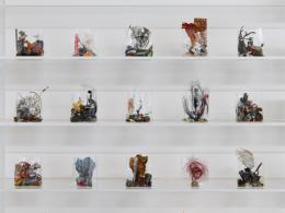 """Yuji Agematsu, """"zip: 01.05.20 … 31.05.20"""", 2020, Ausstellungsansicht Secession 2021 © Foto: Sophie Thun"""