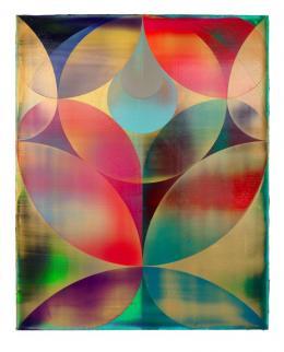 Shannon Finley, Ohne Titel, 2020, Acryl auf Leinwand, 150 x 120 cm © Shannon Finley