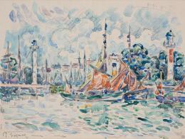 Paul Signac, La Rochelle, 1926,  Nordico Stadtmuseum Linz