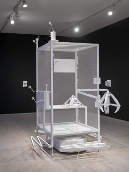 Simon Denny. Mine, Installationsansicht Kunstsammlung Nordrhein-Westfalen, K21, Foto: Achim Kukulies #SimonDenny #K21