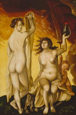 Hans Baldung Grien: Zwei Hexen, 1523 © Städel Museum, Foto: U. Edelmann