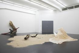 "Sonia Kacem, ""Progress MI 07"", Installation view Galerie Gregor Staiger, Zurich, 2011. Photo: Gregor Staiger"