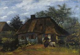 Vincent van Gogh (1853–1890) Bauernhaus in Nuenen, 1885 Öl auf Leinwand, 60 x 85 cm Städel Museum, Frankfurt am Main Eigentum des Städelschen Museums-Verein e.V. © Städel Museum - U. Edelmann