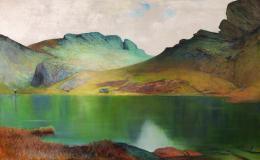 Stebler-Hopf Annie Märjelensee, Öl auf Leinwand 111 x 180 cm Kunstmuseum Bern Schenkung Sylvia Y. Stebler