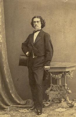 Porträt von Josef Strauss (Bild: Familienarchiv Eduard Strauss)
