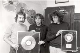 STS, 1985,  Foto: Helmut Utri, Privatbesitz Gert Steinbäcker