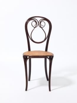 Stuhl Nr. 13, c. 1860. Gebrüder Thonet, Wien, Sammlung Ellenberg. Foto: Die Neue Sammlung – The Design Museum (A. Laurenzo)