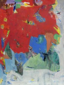 """Ohne Titel"", 2020, Öl auf Leinwand, 85 x 65 cm © Galerie Welz"