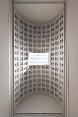 Die renovierte Decke im Theseustempel 2015 © KHM-Museumsverband