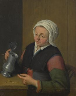 Adriaen van Ostade (1610-1685), Frau mit Bierkrug, um 1650 Innsbruck, Tiroler Landesmuseum Ferdinandeum, Ältere Kunstgeschichtliche Sammlungen, Inv.Nr. Gem 611 Foto: Tiroler Landesmuseen